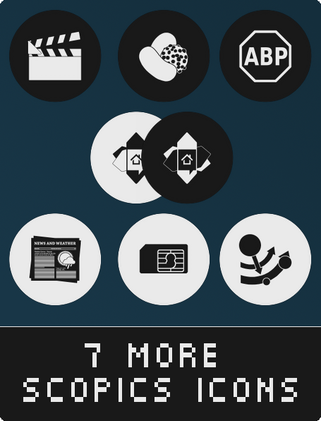 7 more scopics icons for android by duckne55 on deviantart