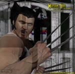 Wolverine Hair for Genesis by CMK24601