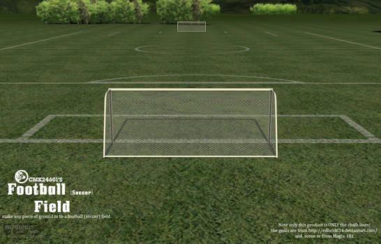 CMK24601s Football (soccer) Field