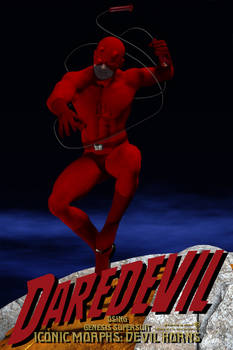 Dare Devil for Genesis SuperSuit Iconic Morphs