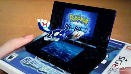 Pokemon Alpha Sapphire Augmented Reality by KaiKiato