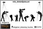 photographer brushes