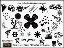 Stars-flowres-hearts by mohaafterdark