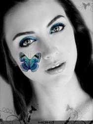 Newgirl Butterfly by mohaafterdark