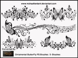 Ornamental ButterFly by mohaafterdark