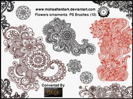 Flowers Ornaments by mohaafterdark
