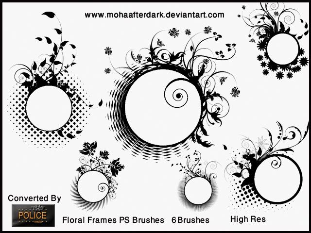 Floral Frames by mohaafterdark