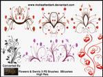 Flowers and Swirls 3