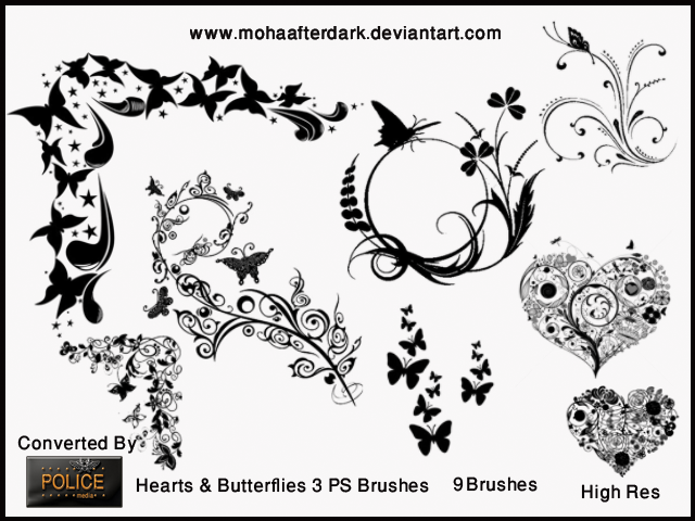 Hearts and Butterflies 3