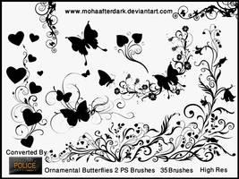 Ornamental Butterflies 2