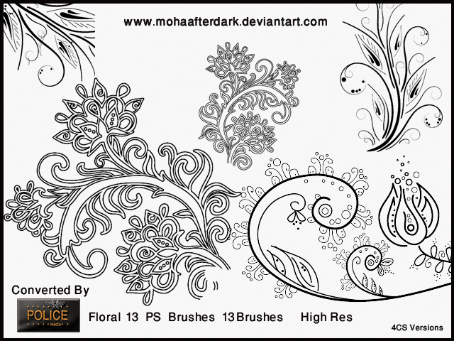Floral 13 by mohaafterdark