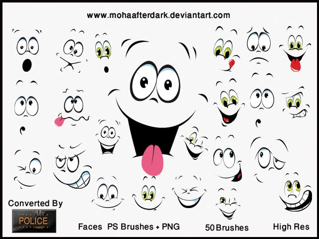 Faces by mohaafterdark