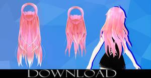 MMD Hair Edit Dl
