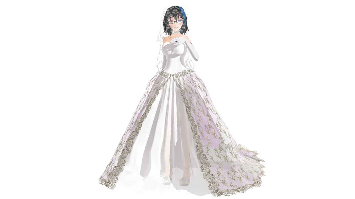 Tda Yokune Ruko Wedding Dress .:Download:. by Palcario on DeviantArt