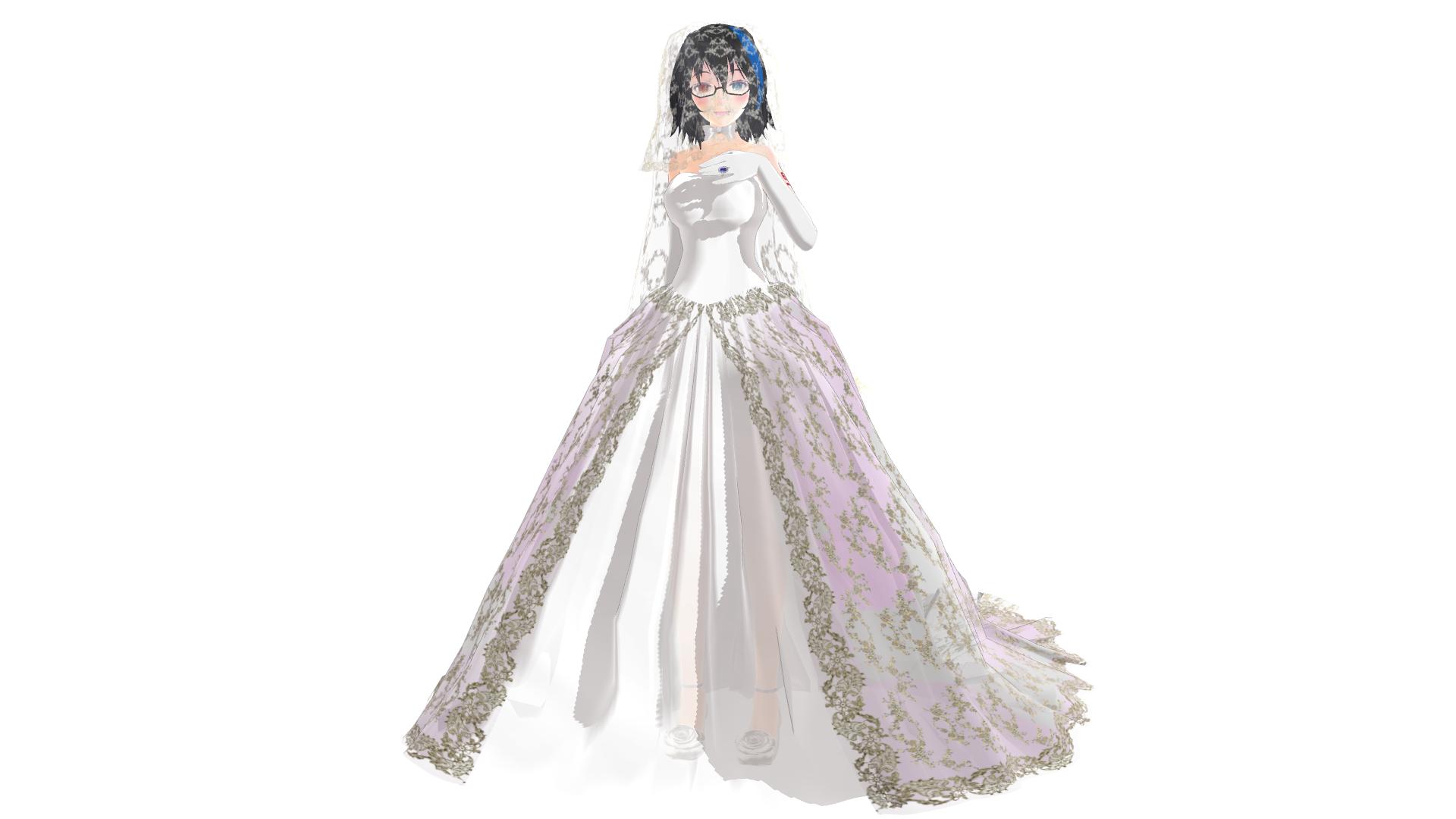 Tda Yokune Ruko Wedding Dress Download By Palcario On DeviantArt - Anime Wedding Dress