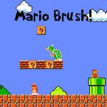 Mario GIMP Brush