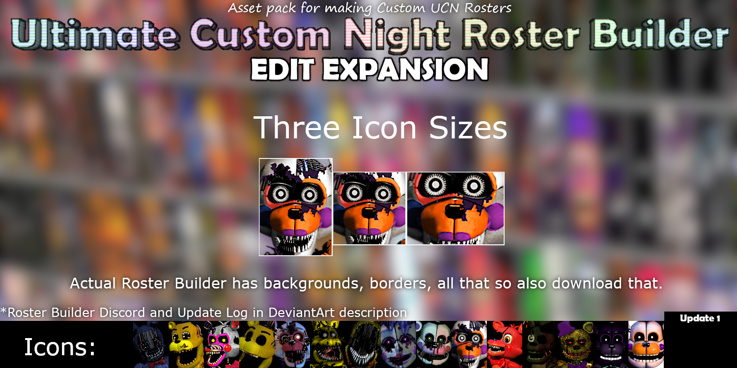 UCN Roster Builder: Edit Expansion (Update 1) by CircusRama