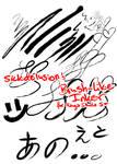 Brush like Inker for Manga Studio 5+