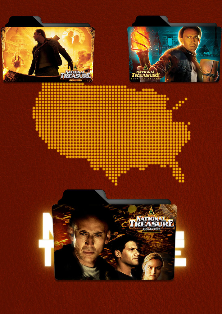 national treasure folder icon pack by gterritory on deviantart