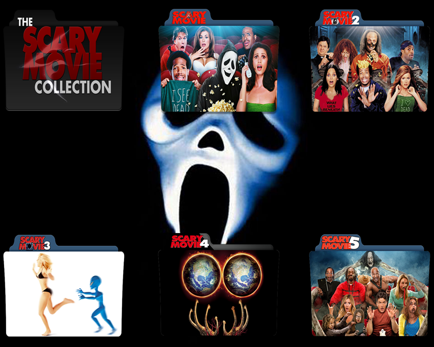 Scary Movie Folder Icon Pack By Gterritory On Deviantart