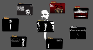 The Godfather Folder Icon Pack
