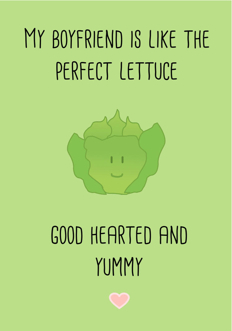 Lettuce Love by RebeccaFB