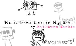 Monsters Under My Bed Brushes