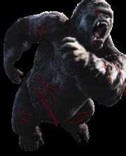 King Kong Battle Damaged by Godzillaworld1516