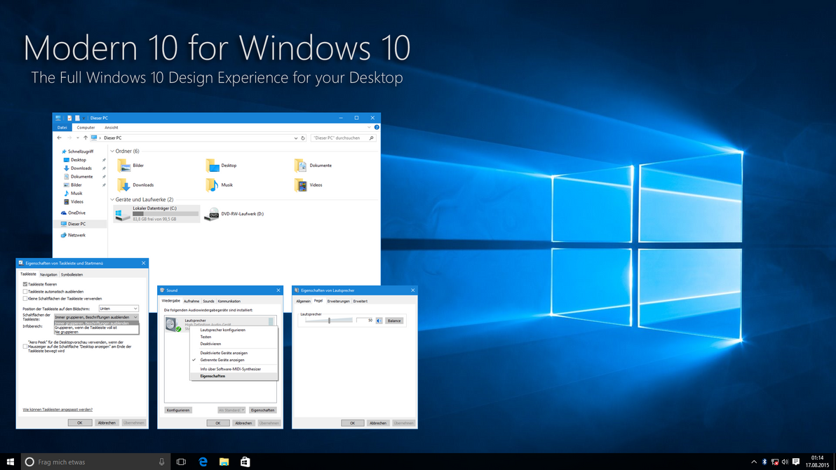 Modern 10 for Windows 10 by IntreppIT on DeviantArt