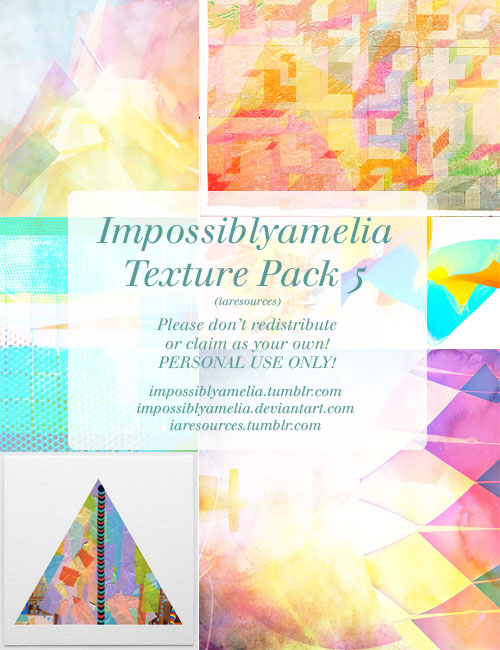 Impossiblyamelia's Texture Pack 5 by impossiblyamelia