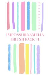 Impossiblyamelia Brush Set # 1 by impossiblyamelia
