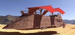 Jabba's barge Freebie package