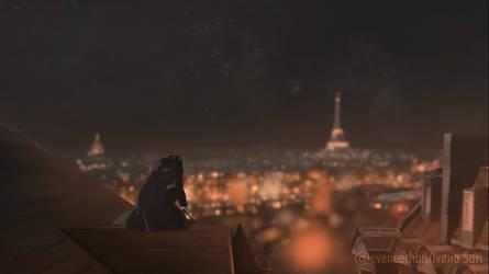 Auror Tina Goldstein Apparates in Paris (Part 1/2) by eveneechan