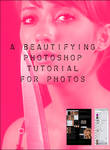 beauty PS tutorial for photos