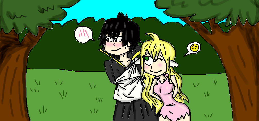 You have to try and smile, Zeref by oo25
