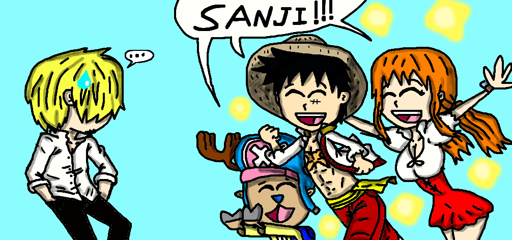 Rescuing Sanji by oo25