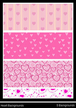 Heart Pattern Backgrounds