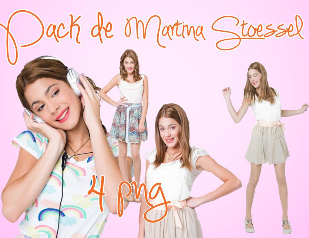 Pack de Martina Stoessel by MariiLu