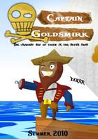 Captain Goldsmirk by Taijj