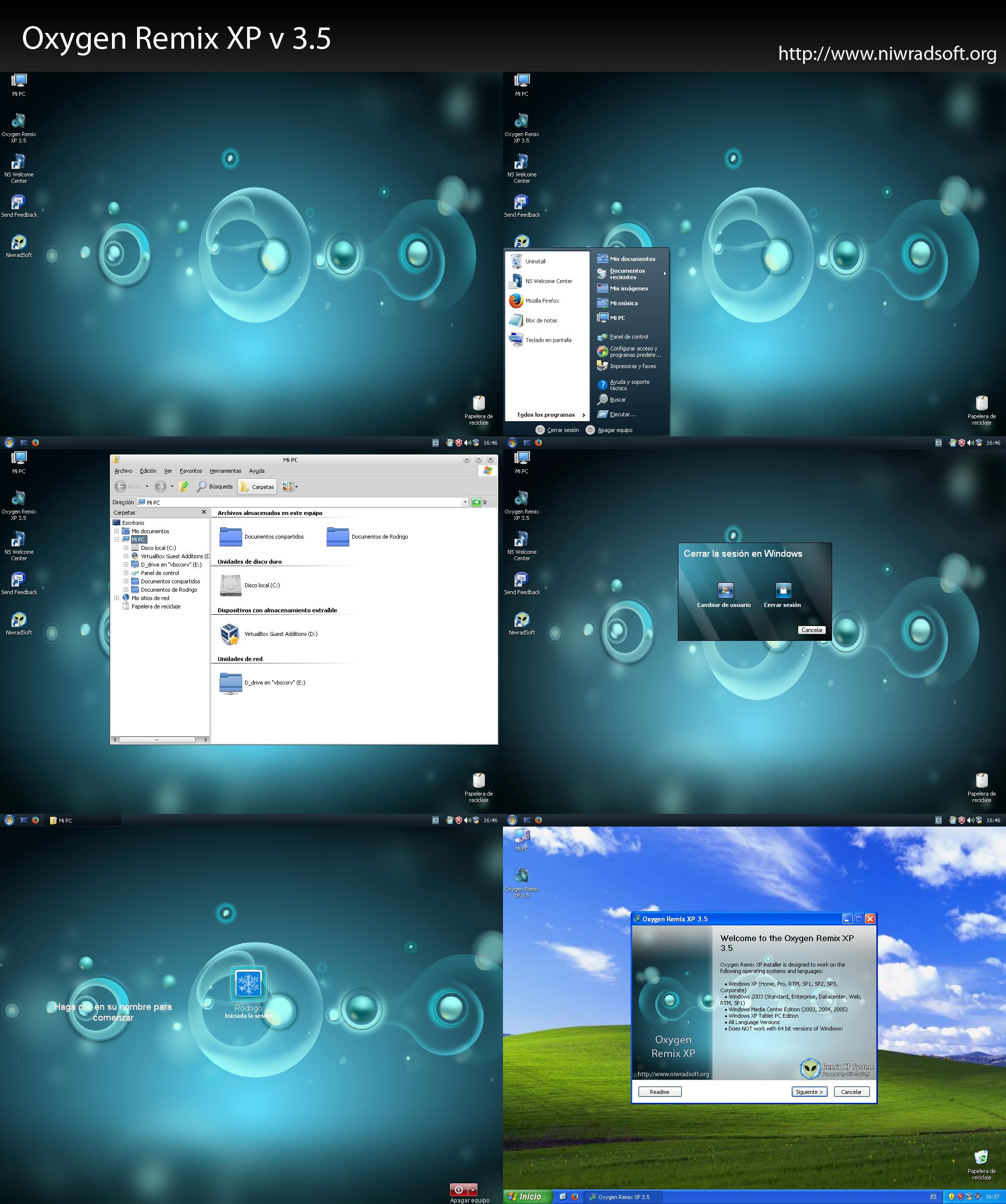 Oxygen Remix XP v4 0 by RemixXPSystem on DeviantArt