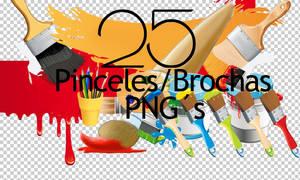 Pinceles PNG