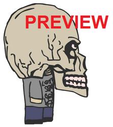 Skull Guy Gif