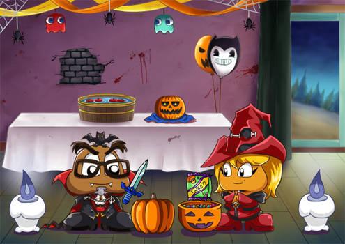 Animated GaijinGoomba Halloween 2018