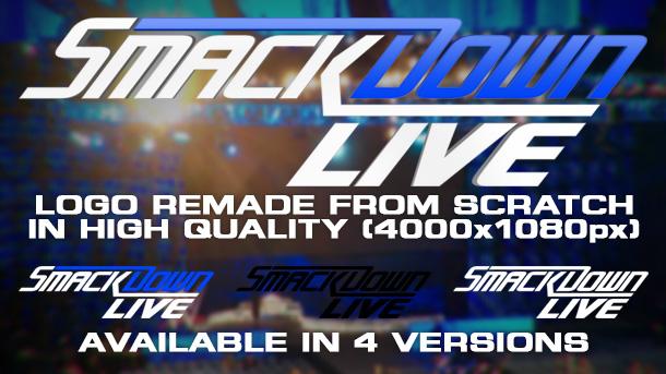 New WWE SmackDown LIVE Logo Remake By MattiaBondrano