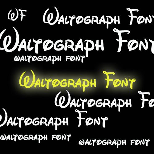 Waltograph Font by lovelielife on DeviantArt