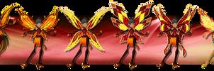 [WC][C]:|Rouge S1-S4 Fairy Evolution|