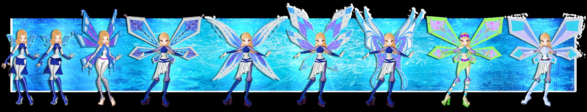 [WC][C]:|Hilda S1-S4 Fairy Evolution|