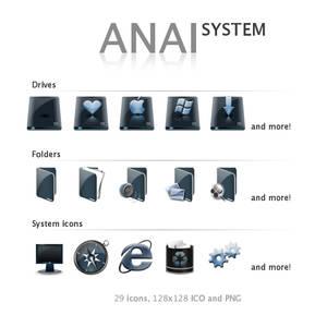 Anai System Iconset