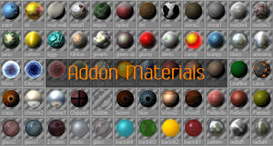 Addon Material Pack