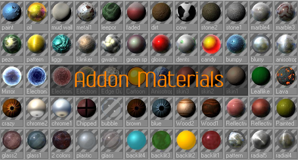 Addon Material Pack by AKLP